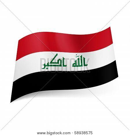 State flag of Iraq