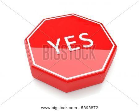 Stop Sign 3d