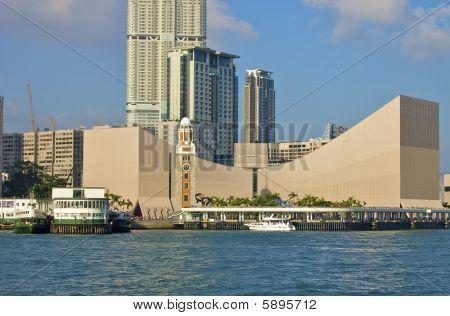 Tsim Sha Tsui Public Pier in HK
