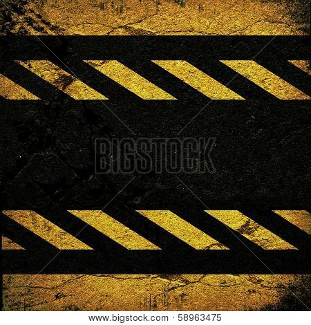 background with cracked road texture