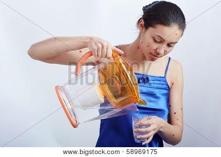 drinking plenty of fluids