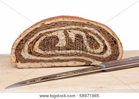 Freshly Baked Bi-colour Gourmet Bread