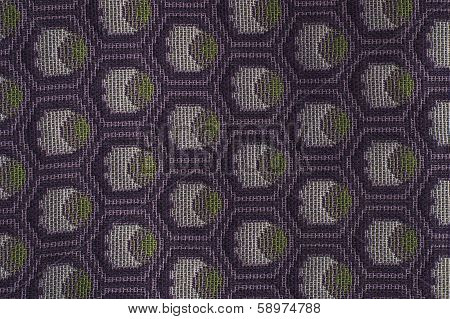 texture of the filament manually woven fabrics