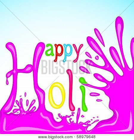 Colorful Holi Background