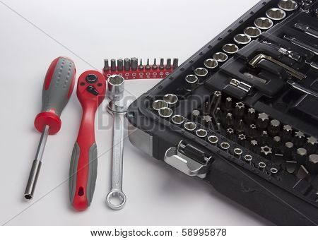 Keys And Screwdriver