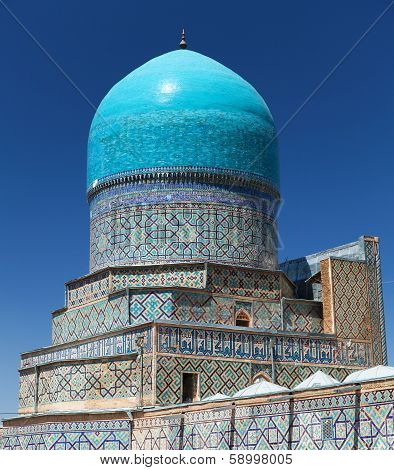 View From Tilla-kari Medressa - Registan - Samarkand - Uzbekistan