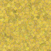 Yellow Paint Blotch Background