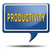 pic of productivity  - productivity industrial or business productive time management production costs maximizing output rate - JPG