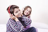 picture of lol  - young guys listening music in the room - JPG