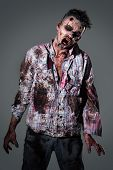 image of zombie  - Aggressive - JPG