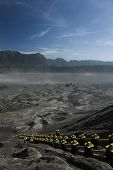 Volcano in Bromo, Java, Indonesia