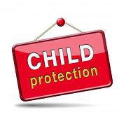 foto of child abuse  - child protection and care give children a safe home and protect them from abuse or domestic violence - JPG