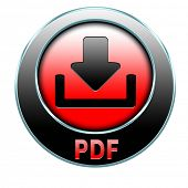 pdf file or document download icon