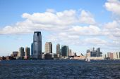 die Jersey City skylines