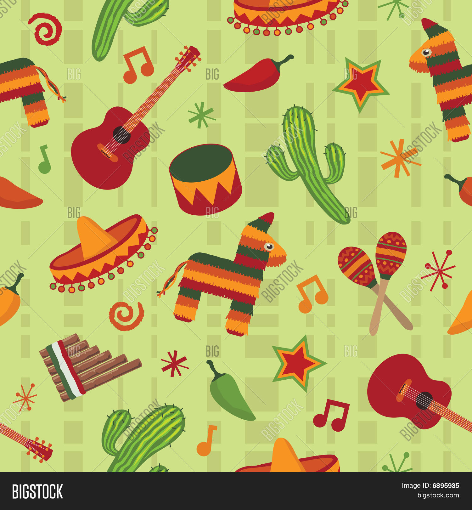 seamless mexican pattern vector amp photo bigstock