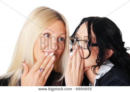 Two Charming Business Women