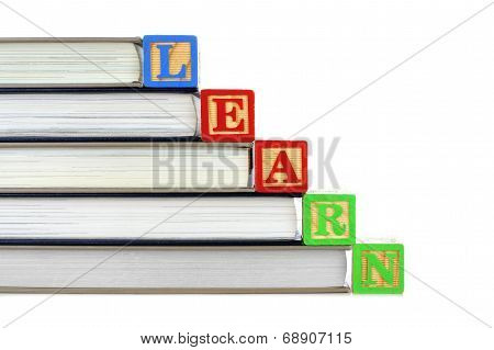 Books and LEARN blocks