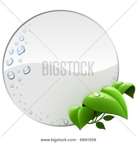 Blank environmental label