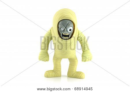 Mummy Monster From Stretch Screamer Toy.