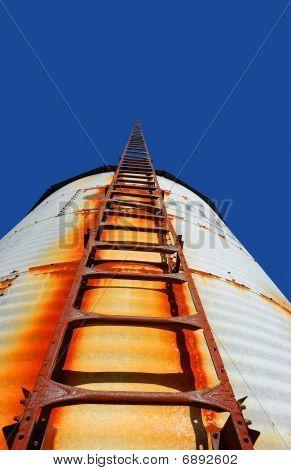 rustic stairway to heaven