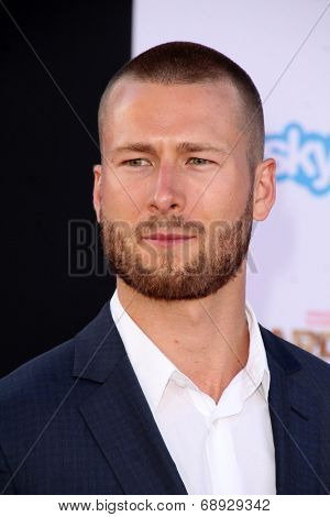 LOS ANGELES - JUL 21:  Glen Powell at the