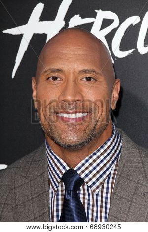 LOS ANGELES - JUL 23:  Dwayne Johnson, aka The Rock at the