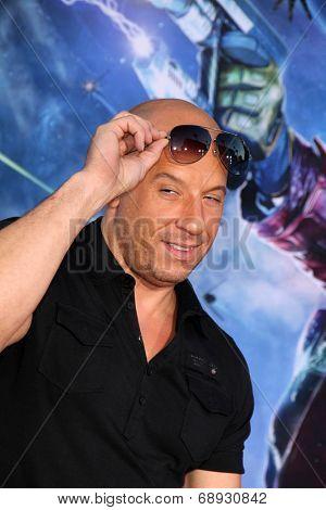 LOS ANGELES - JUL 21:  Vin Diesel at the
