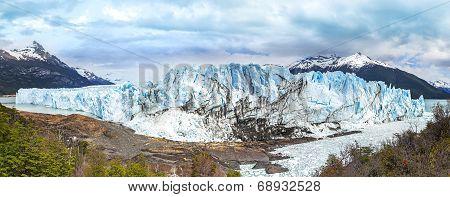 Perito Moreno Glacier In The Los Glaciares National Park In The Santa Cruz Province, Argentina.