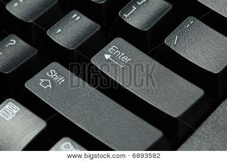 Computer Keyboard Isolated