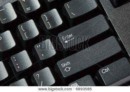 Computer Keyboard Isolated