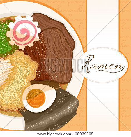 Background With Ramen