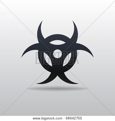 Vector Icon Of Bio Hazard