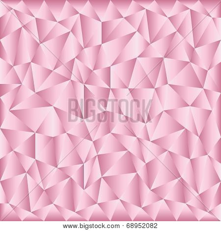 Triangular Pink Background