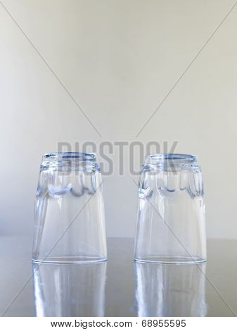 Two Drinking Glasses