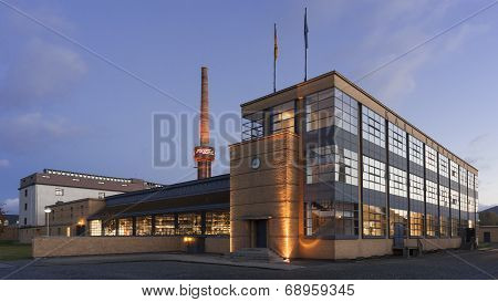ALFELD, GERMANY - OCTOBER 24, 2013: The Fagus Factory in Alfeld, Germany