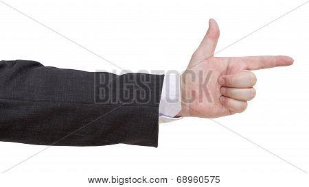 Gun Sign - Hand Gesture