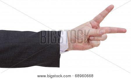 Two Fingers Scoring - Hand Gesture