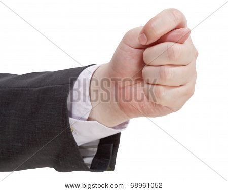 Fig Sign Close Up - Hand Gesture