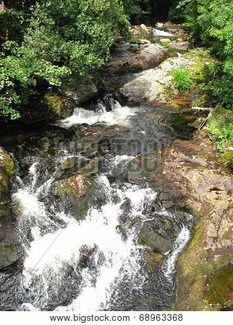 Waterfall River Landscape