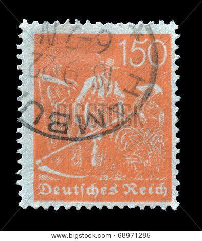 German Reich stamp 1921