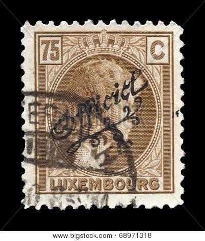 Luxembourg stamp 1926