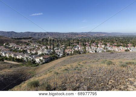 Suburban Simi Valley bedroom community near Los Angeles, California.