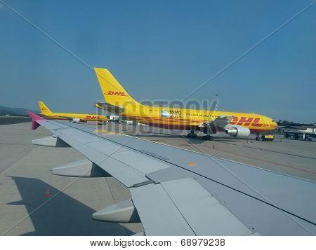 Dhl Aircrafts