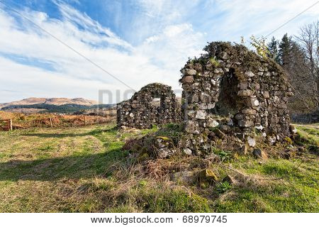 Old Ruins On The Isle Of Mull