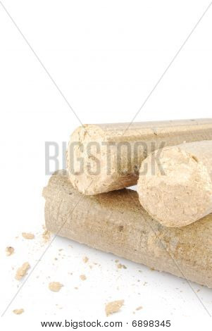 Briquetas y leña granulado