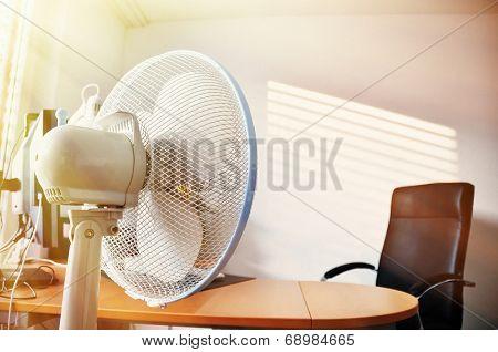 Fan in the office