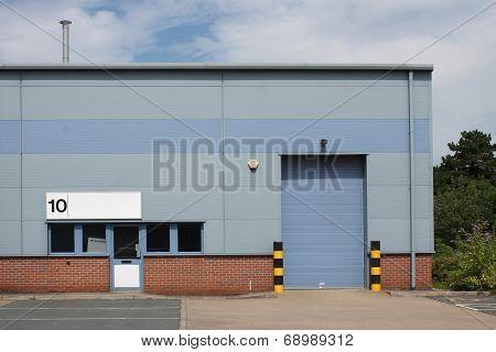 Vacant industrial unit
