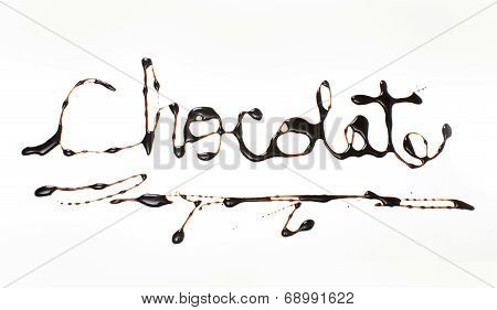 The Word Chocolate