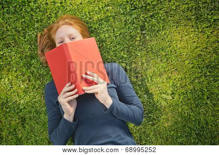 Student With A Book