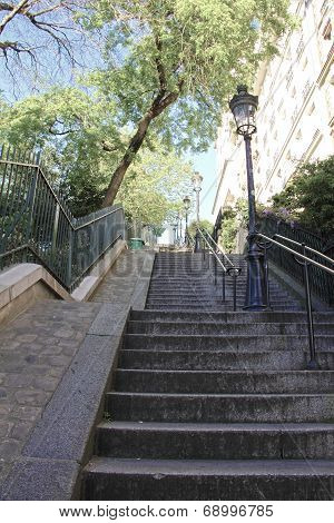 Stairs To Sacre-coeu